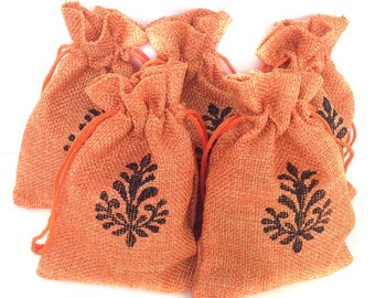 Gift pouch Drawstring pouch Hessian Jute Bag Favor gift bags Hessian pouch Drawstring bag Burlap favour bags Jute gift bags
