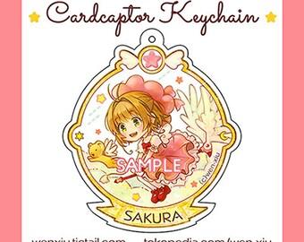 Cardcaptor Sakura Acrylic Keychain