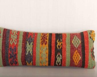 Lumbar Kilim Pillow Decorative Pillows Bed Pillows Decorative Pillows for couch Bed Pillow Cases Throw Pillows KP10032