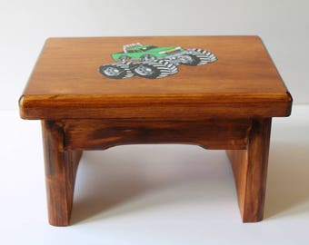 Wooden Bench Stool Etsy