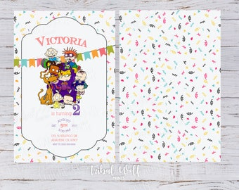 Rugrats Birthday Etsy