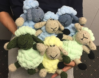 Bubble The Sheep Crochet Kit