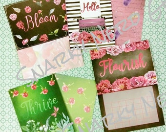 Bloom Journal Cards