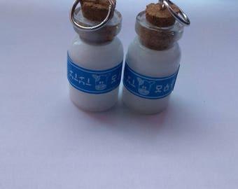 Lon Lon Ranch Milk Bottle Charms - Legend of Zelda
