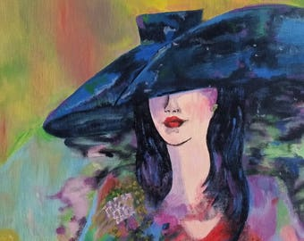 Chic Sophistication - Oil Painting