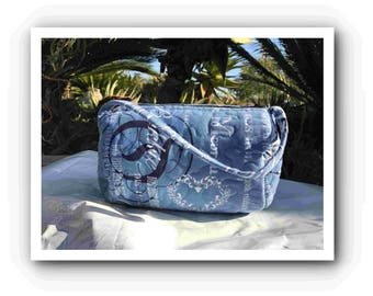 Quilted Toiletry bag Afrikaans round