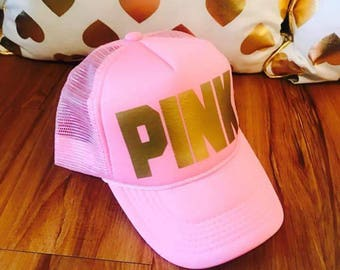 Trucker hat women, custom hat, party hat, women cap, monogram cap, custom text cap, personalized trucker hat, personalized hat, women hat