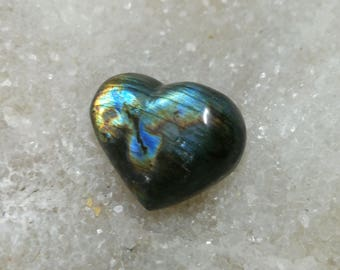 Labradorite, Rainbow 21,32 Gr-heart