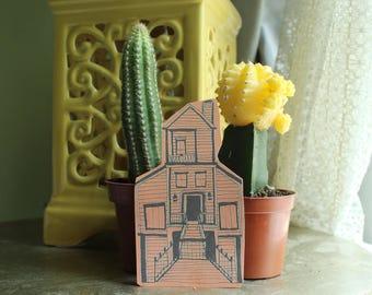 Orange Island House Sticker