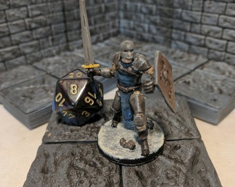 Soldier/Guard Tabletop RPG Miniature