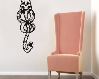 The Dark Mark Harry Potter Wall Sticker Vinyl Decal, Death Eaters