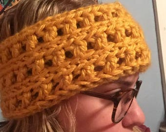 Crochet Ear Warmer Headband