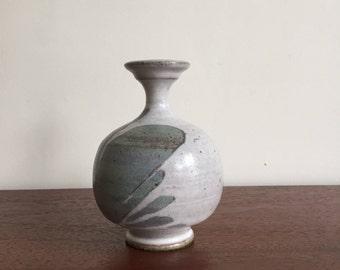 Handmade Vintage Ceramic Bud Vase