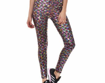 Mermaid Collection Leggings Plus Size