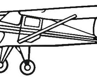 "Wireart Cessna 34"" wide, 14"" tall"