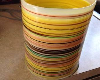 Jupiter Bucket Vase in Yellow Multi-Color