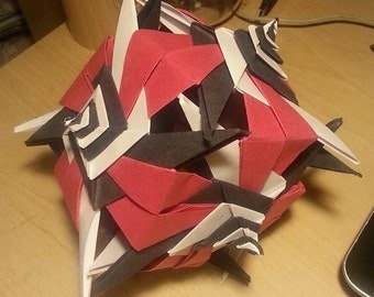 Origami Spiral Ball
