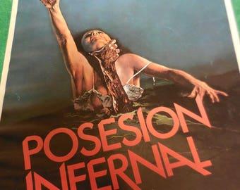 Evil Dead Spanish Press Book 80s  Bruce Campbell Sam Raimi