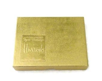 Vintage Belgium Harrods Playing Cards by David Westnedge Plastic Coated 2 Decks 52 Each