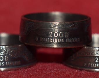 Quarter Coin Rings You Pick Year