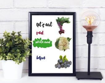 Kitchen wall decal -Kitchen printables - Kitchen prints download - kitchen printable art - Kitchen gifts for mom - Kitchen quote print