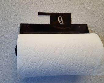 Rustic Oklahoma Paper Towel Holder