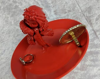 Oh Darlings Villain Jewellery Tray Red