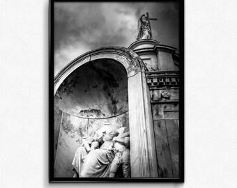 Headless - Black & White Fine Art Print