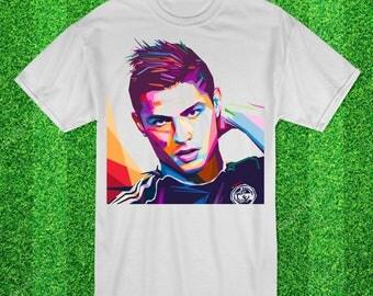 Cristiano Ronaldo Wpap Football tshirt