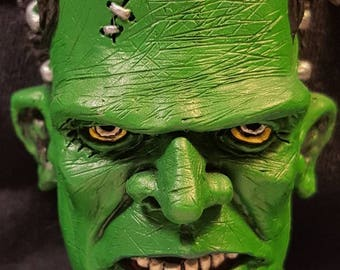 Frankenstein Monster Magnet - Painted