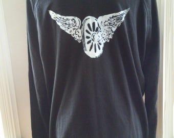 1924 Vintage Wings T Shirt Large