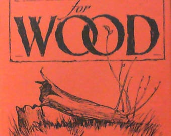 A Reverence for Wood by Eric Sloane (Hardcover, 1984) Very Good Condition with Free Shipping