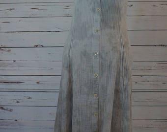 Vintage Tie-Dye Maxi Dress
