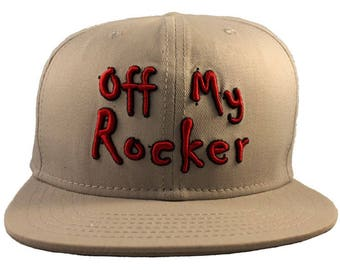SnapBack - Off My Rocker - Grey SnapBack Cap