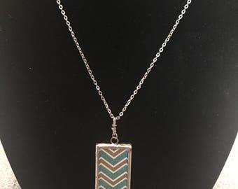 Reversible Arrow/Chevron Pendant Necklace