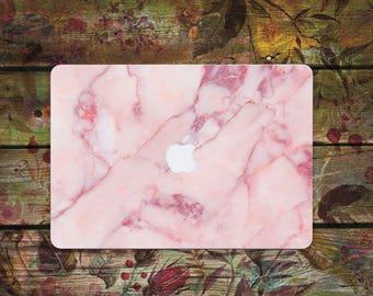 Pink Marble MacBook case MacBook Pro case MacBook air case Macbook Pro 13 Case Macbook Pro 15 case Macbook Air 11 Case Macbook Air 13 Case