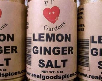 Lemon Ginger Salt Recipe