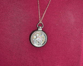 Steampunk Locket Necklace