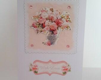 With Love Handmade Card
