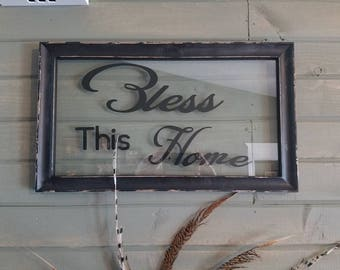 Bless This Home Wall Decor