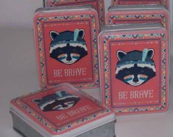 Little Animal adventure raccoon storage box - be brave-Be Brave