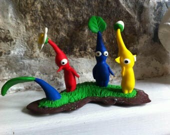 Pikmin mini-diorama 6