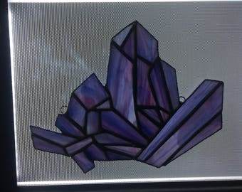 Stained Glass Geode