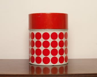Vintage Look polka dot/Can polka dot from the 70s/from the 70 's