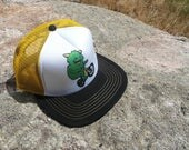 Mountain Bike Monster- Kids Trucker Hat. Inspired by youth and an outdoor lifestyle!