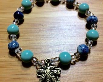 Blue MJ Bracelet