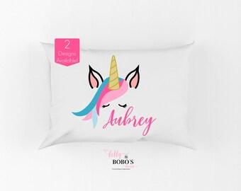 Unicorn Pillow, Personalized Unicorn Pillow, Unicorn Pillow For Girls Room, Girl Personalized Unicorn Pillow, Unicorn Face Pillow, Unicorn