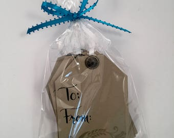 Handmade All Occasion Gift Tags, set of 12