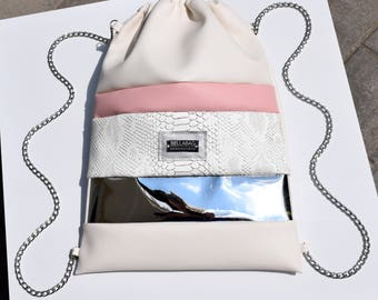 Backpack BELLABAG | Silver Mirror
