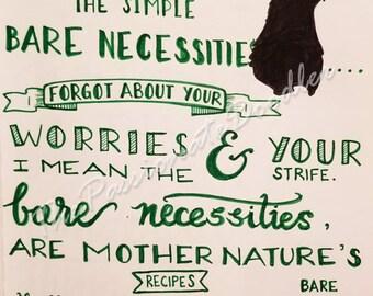 Bear Necessities~